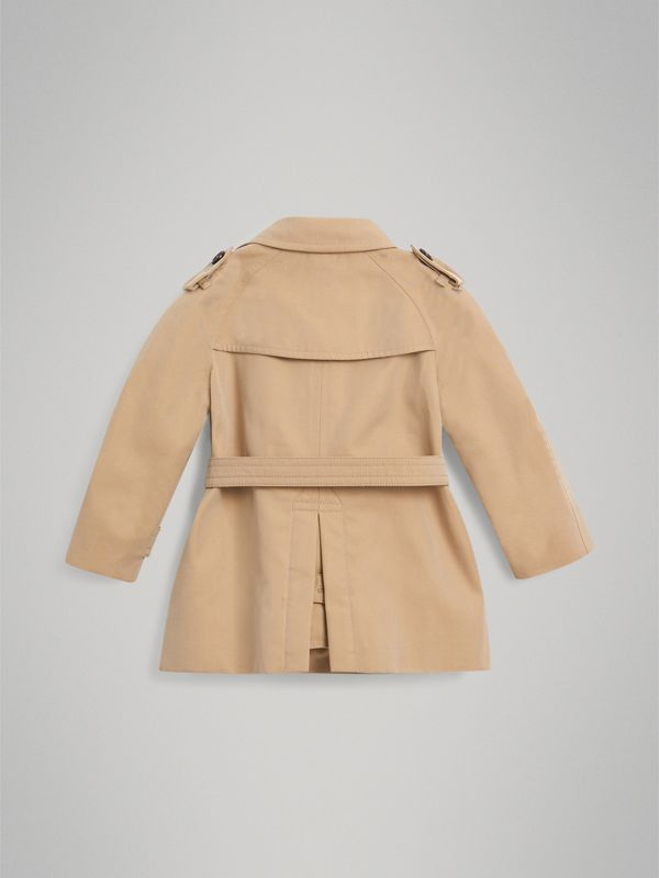 The Wiltshire Trench Coat in Honey - Children | Burberry - cell image 3
