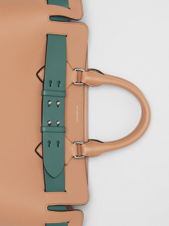 The Medium Leather Belt Bag in Light Camel - Women | Burberry United Kingdom - cell image 1