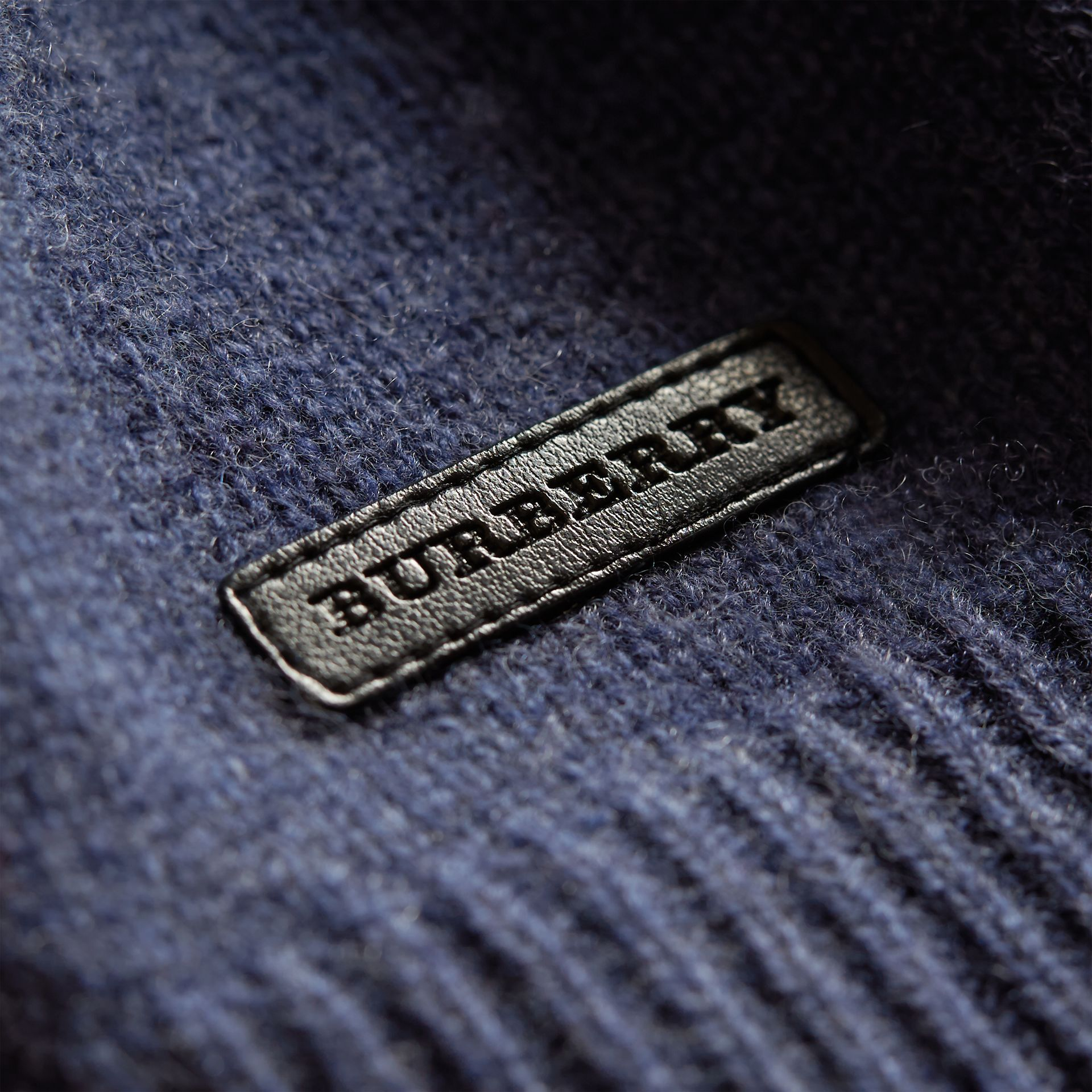 Cashmere Two-piece Baby Gift Set in Mineral Blue | Burberry United States - gallery image 2