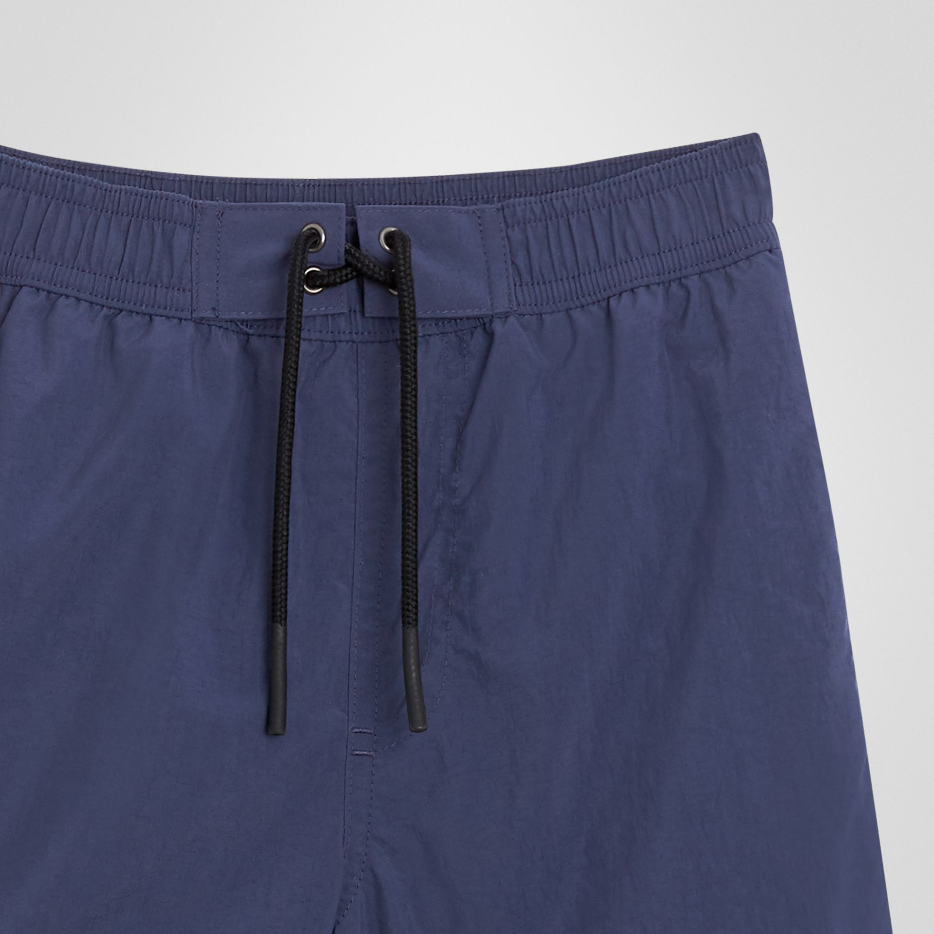 Drawcord Swim Shorts in Indigo | Burberry - gallery image 4