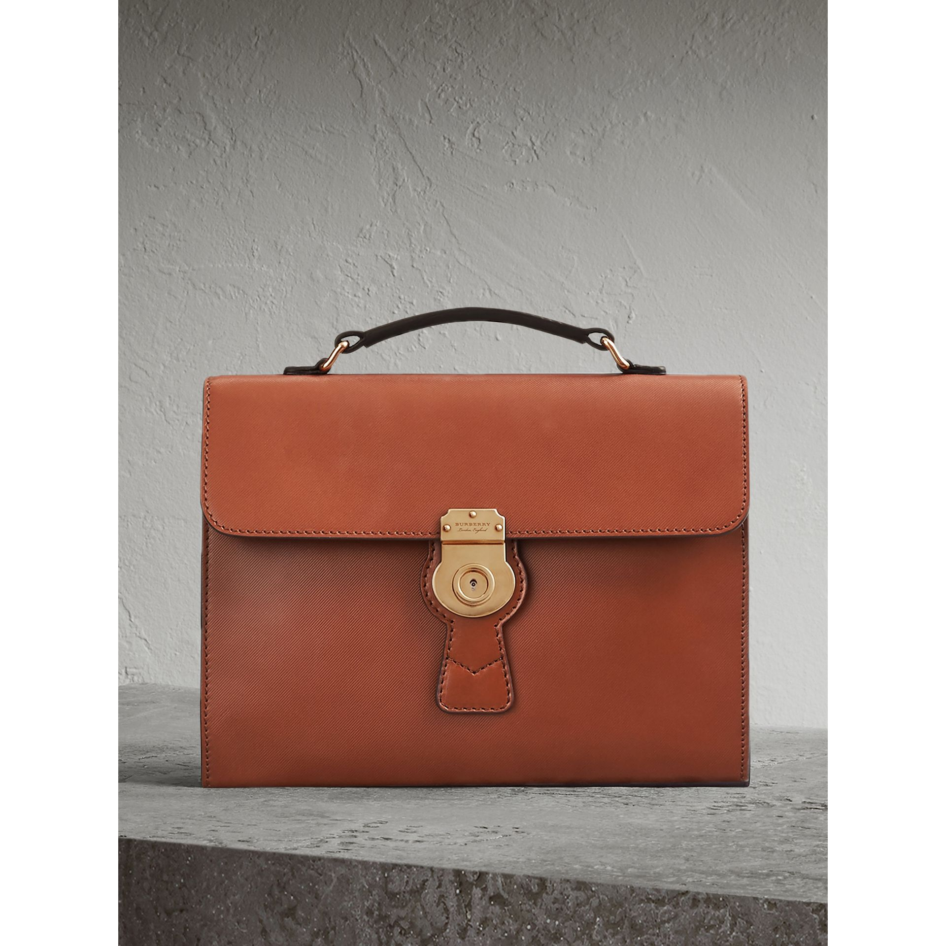 The DK88 Document Case in Tan - Men | Burberry - gallery image 0