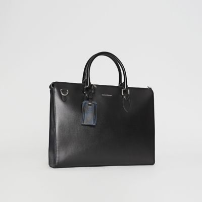 Burberry - Grand attaché-case en cuir London - 6