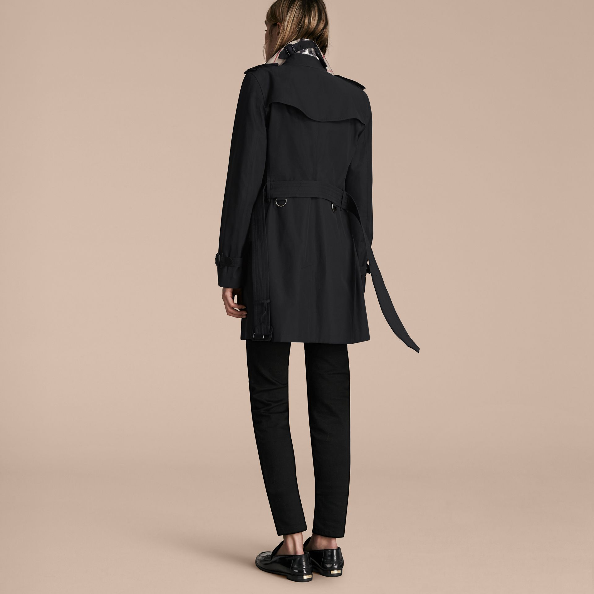 Noir The Kensington – Trench-coat Heritage mi-long Noir - photo de la galerie 3
