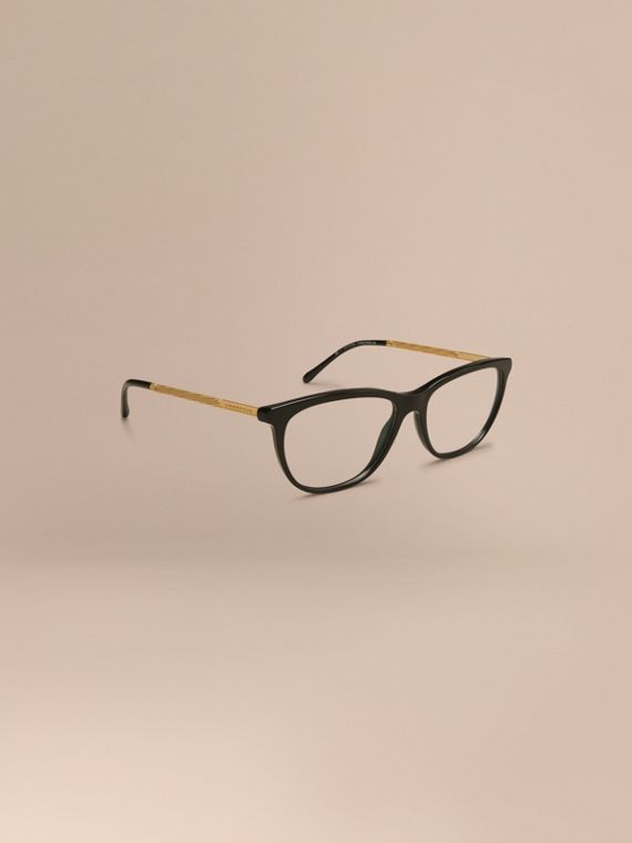 Gabardine Collection Cat-Eye Optical Frames Black