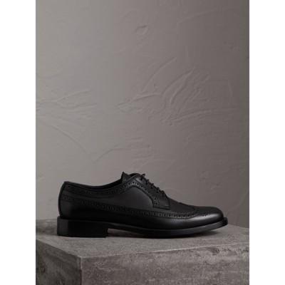 Burberry - Chaussures richelieu de style derby en cuir - 5