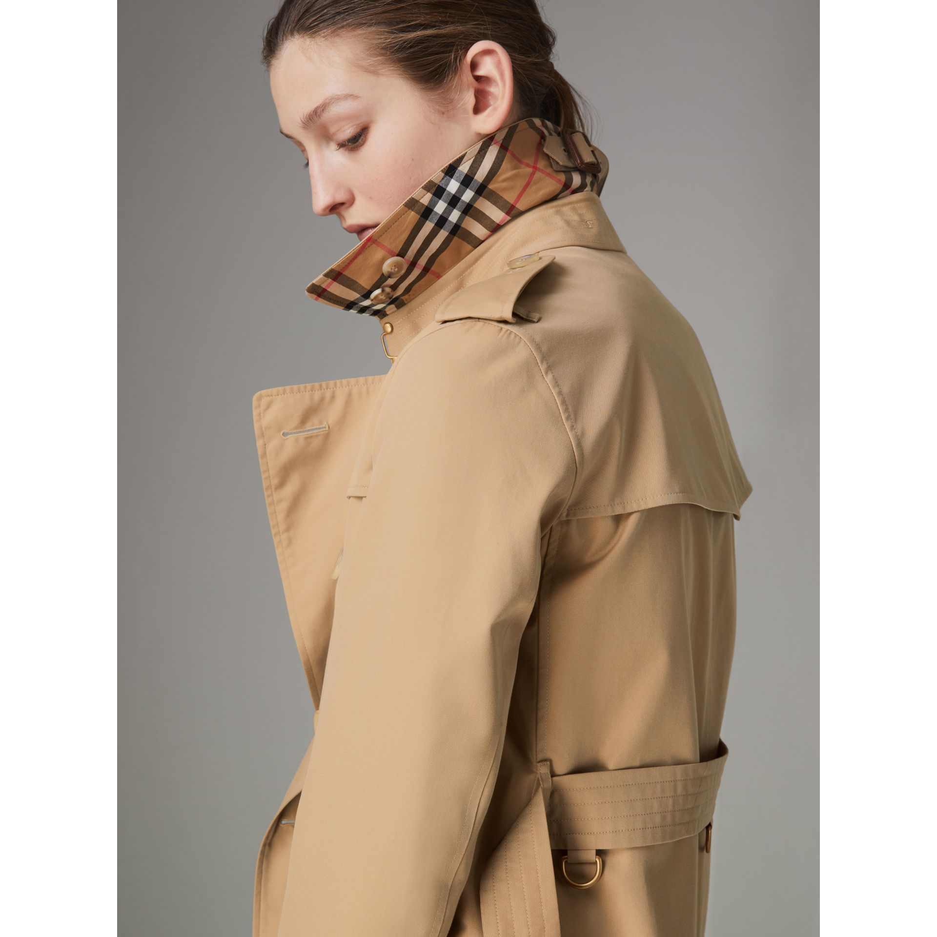 The Kensington – Trench Heritage (Miel) - Femme | Burberry - photo de la galerie 1