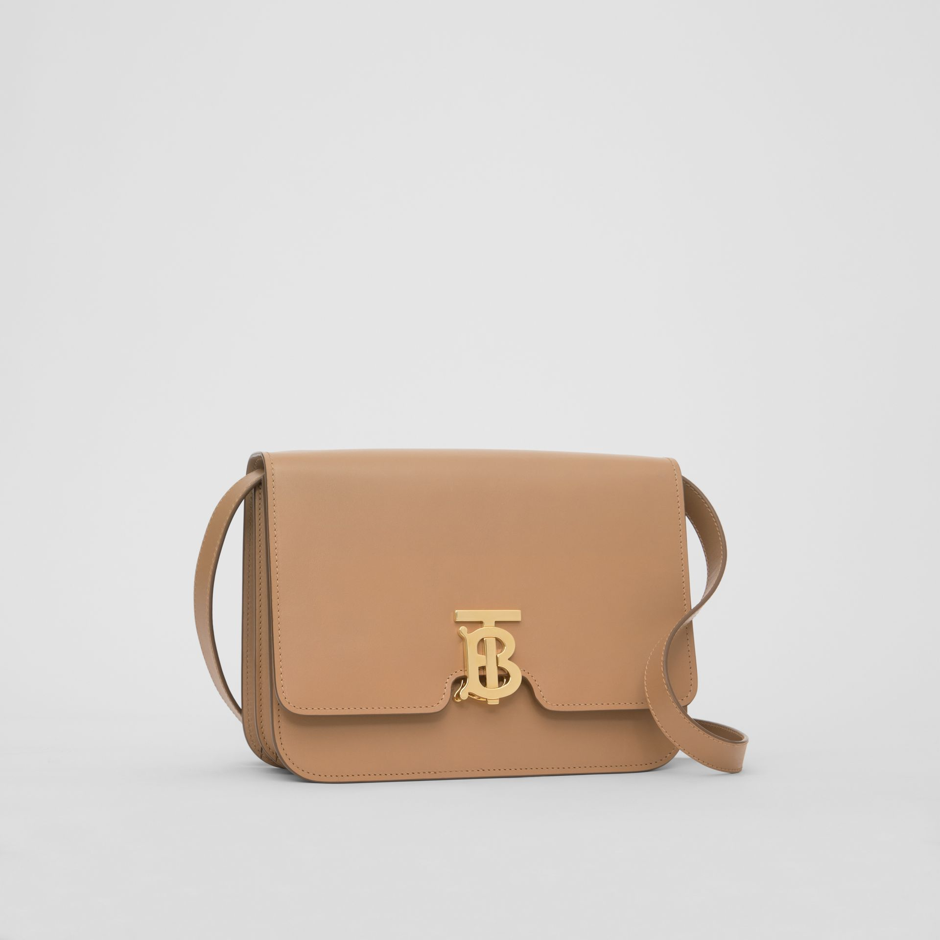 Medium Leather TB Bag in Light Camel - Women | Burberry Hong Kong - gallery image 3