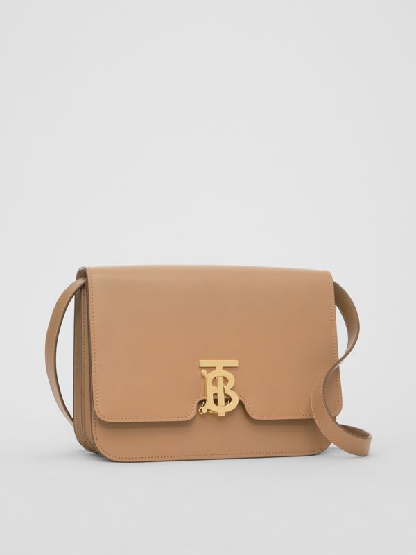 Medium Leather TB Bag in Light Camel - Women | Burberry Hong Kong - cell image 3