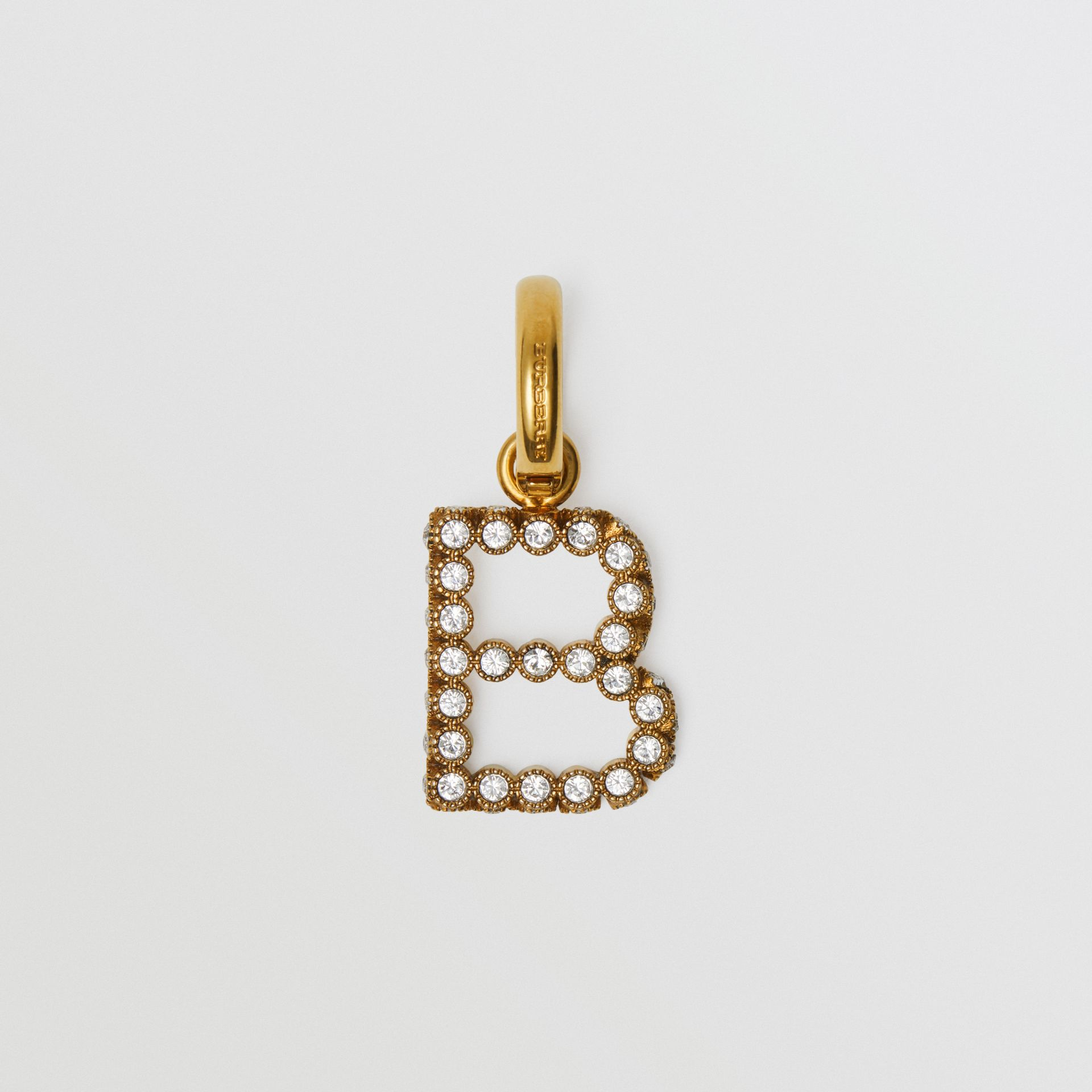 Crystal 'B' Alphabet Charm - Women | Burberry United States - gallery image 0