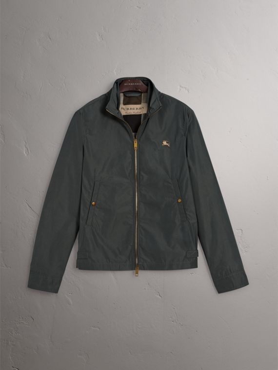 Lightweight Technical Jacket in Smokey Green - Men | Burberry United Kingdom - cell image 3
