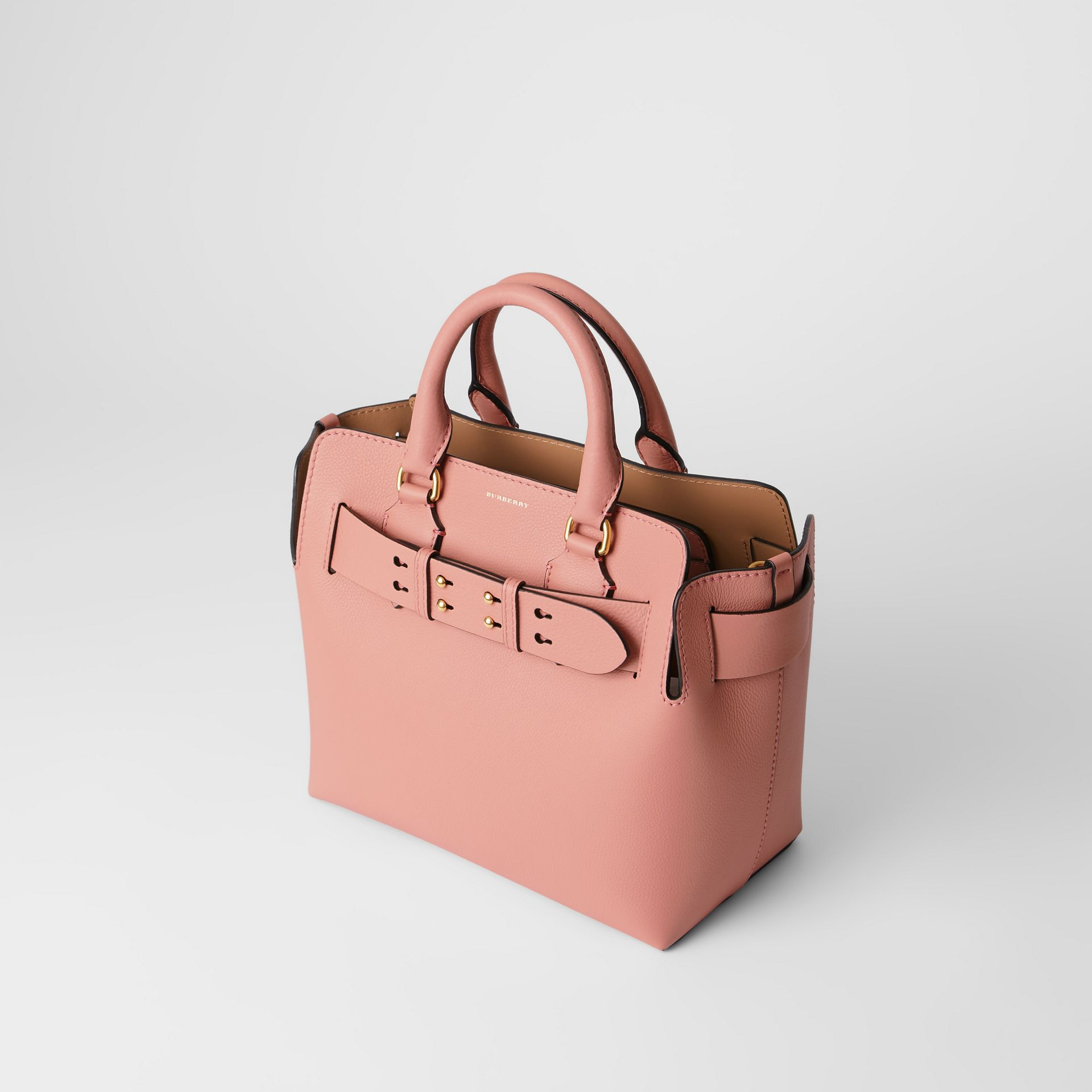 The Small Leather Belt Bag in Ash Rose - Women | Burberry - gallery image 4