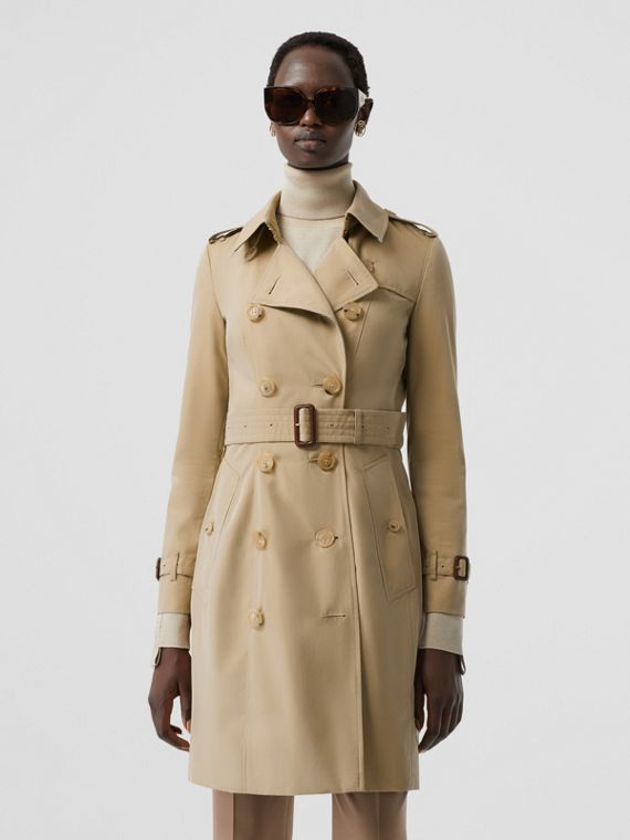The Chelsea - Trench coat Heritage médio (Mel)