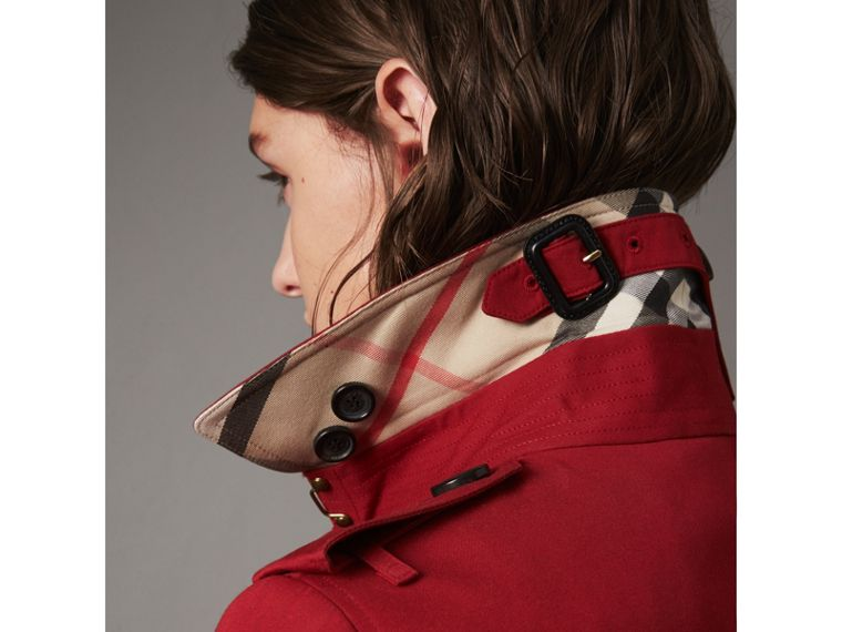 The Sandringham – Mid-length Trench Coat in Parade Red - Women | Burberry - cell image 1