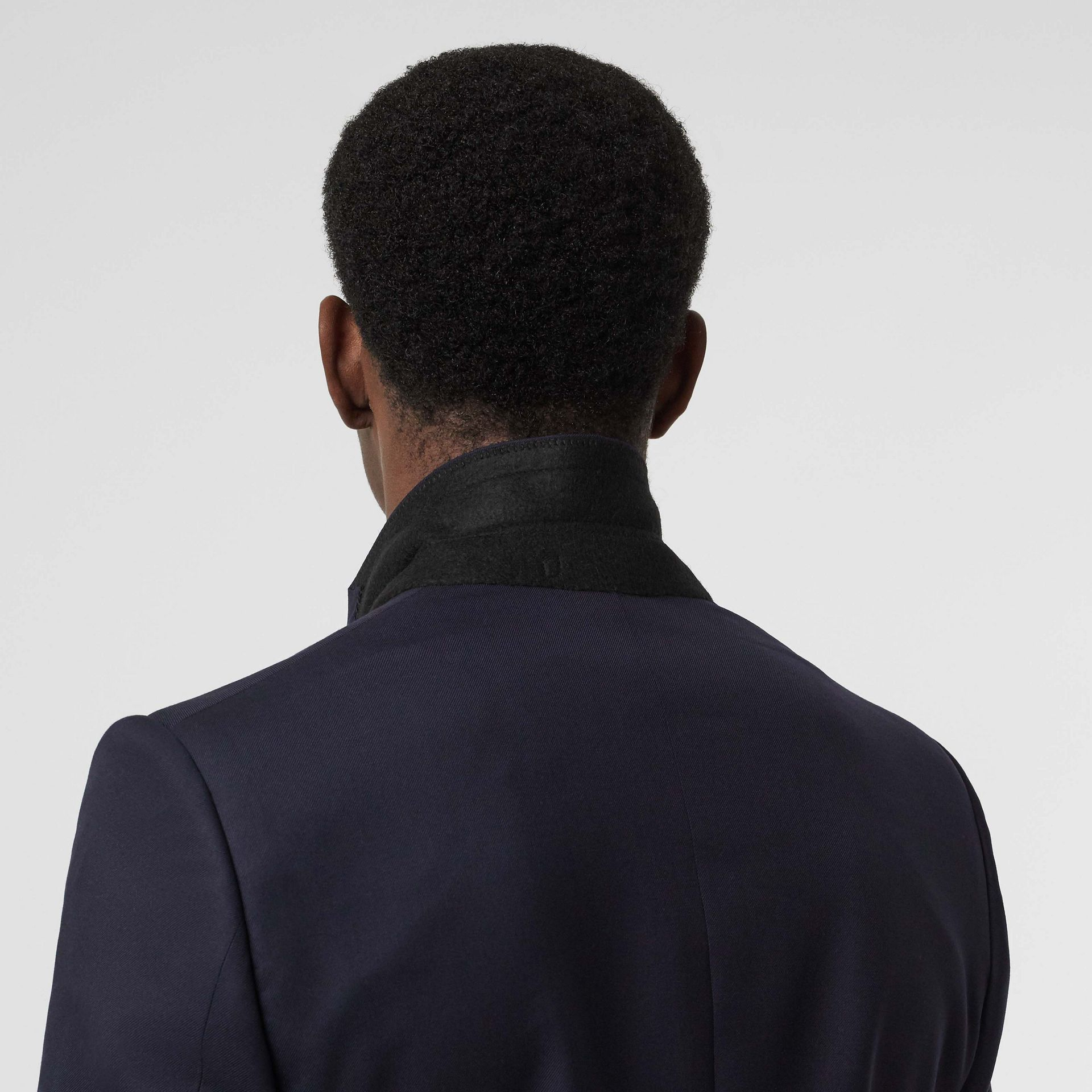 Classic Fit Wool Twill Suit in Navy - Men | Burberry United States - gallery image 5
