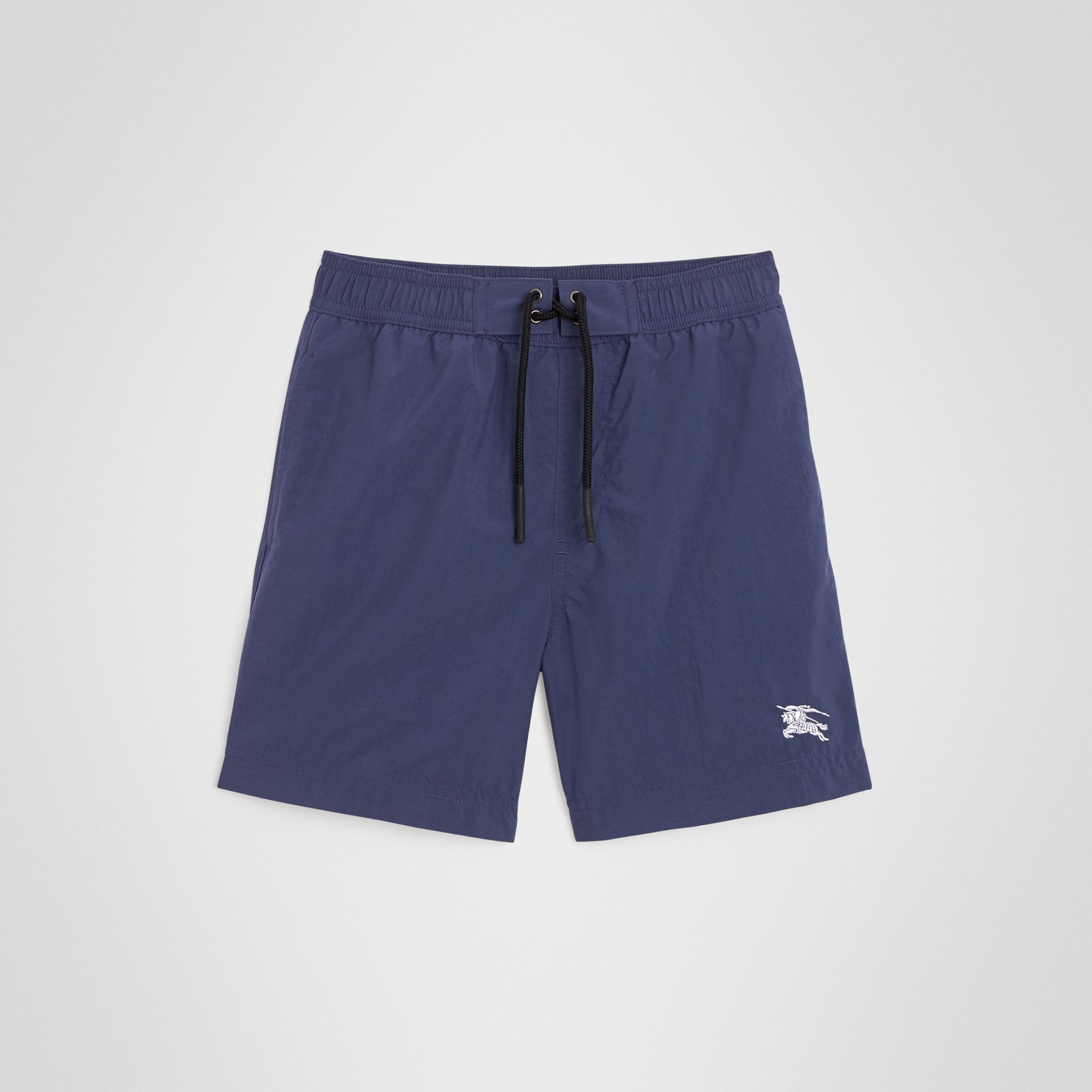 Drawcord Swim Shorts in Indigo | Burberry United Kingdom - gallery image 0