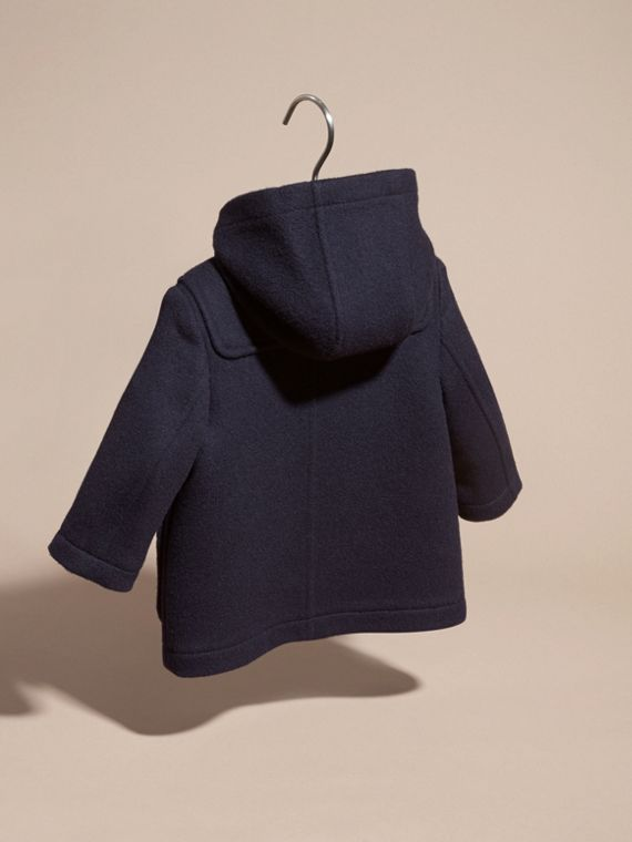Dufflecoat aus Wolle Dunkles Indigo - cell image 3