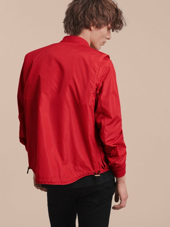 Technical Bomber Jacket with Detachable Gilet - cell image 2