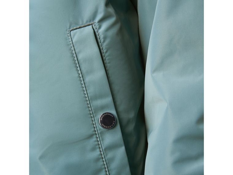 Lightweight Technical Jacket in Powder Green - Men | Burberry - cell image 4