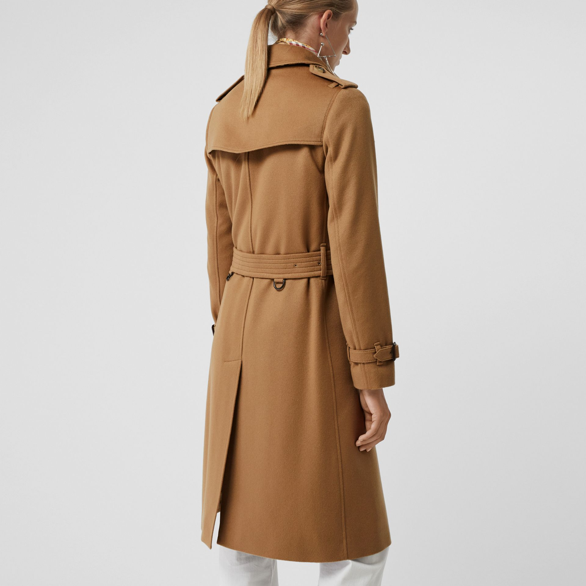 Cashmere Trench Coat in Mid Camel - Women | Burberry United States - gallery image 2
