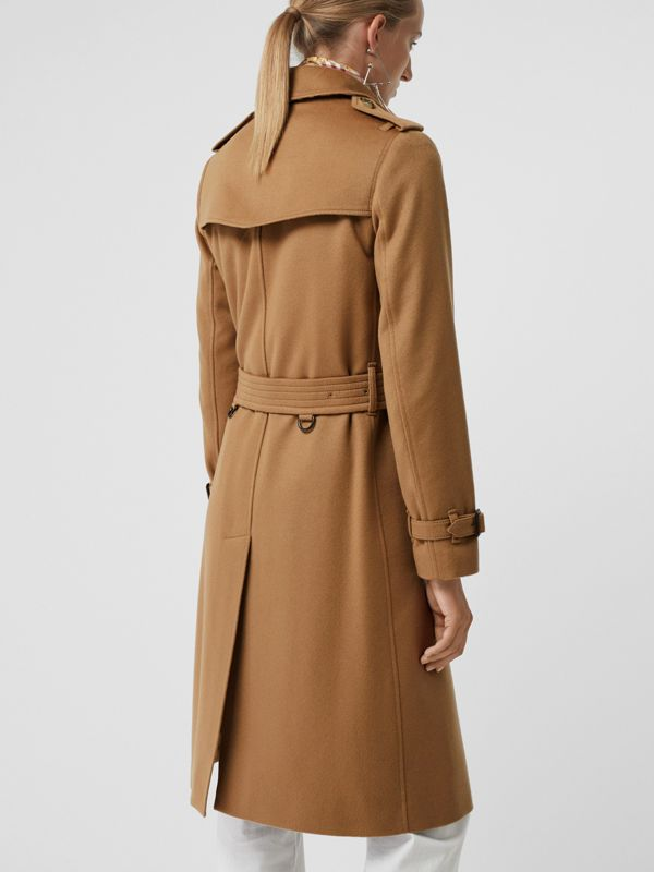 Cashmere Trench Coat in Mid Camel - Women | Burberry - cell image 2