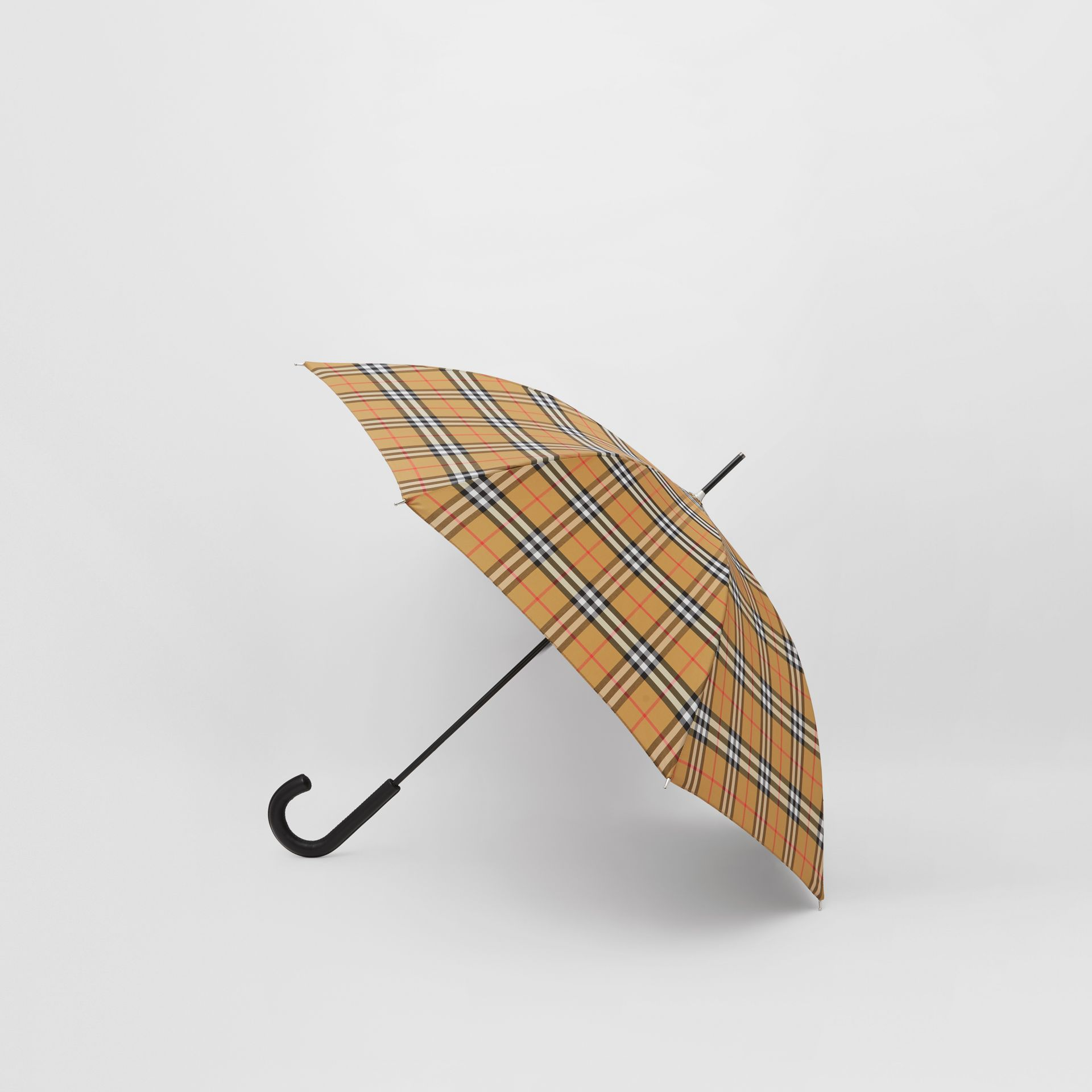 Vintage Check Umbrella in Archive Beige | Burberry Hong Kong S.A.R - gallery image 3