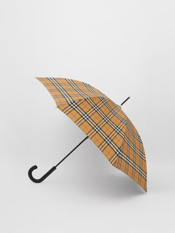 Vintage Check Umbrella in Archive Beige | Burberry Hong Kong S.A.R - cell image 3