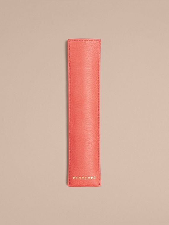 Grainy Leather Pencil Sleeve | Burberry - cell image 3