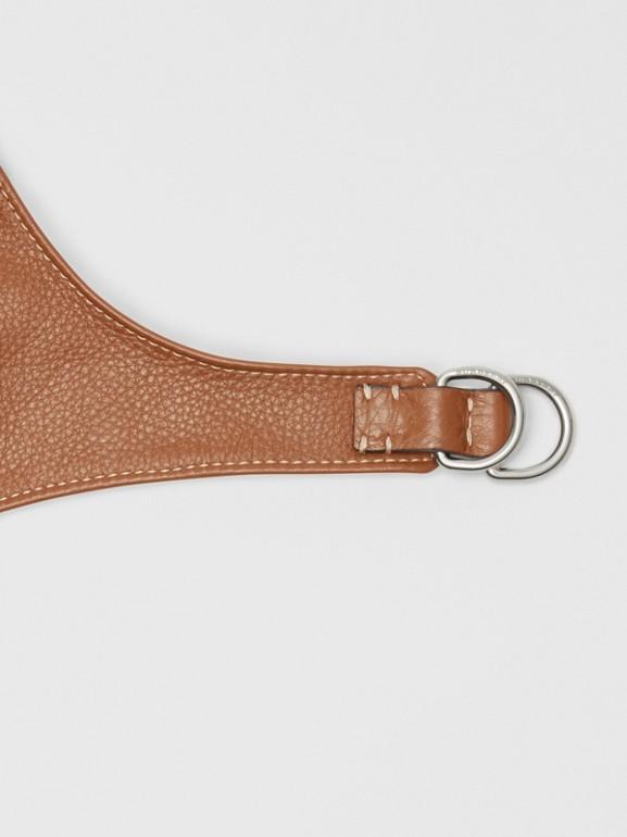 Chapéu de piloto de couro (Toffee) | Burberry - cell image 1