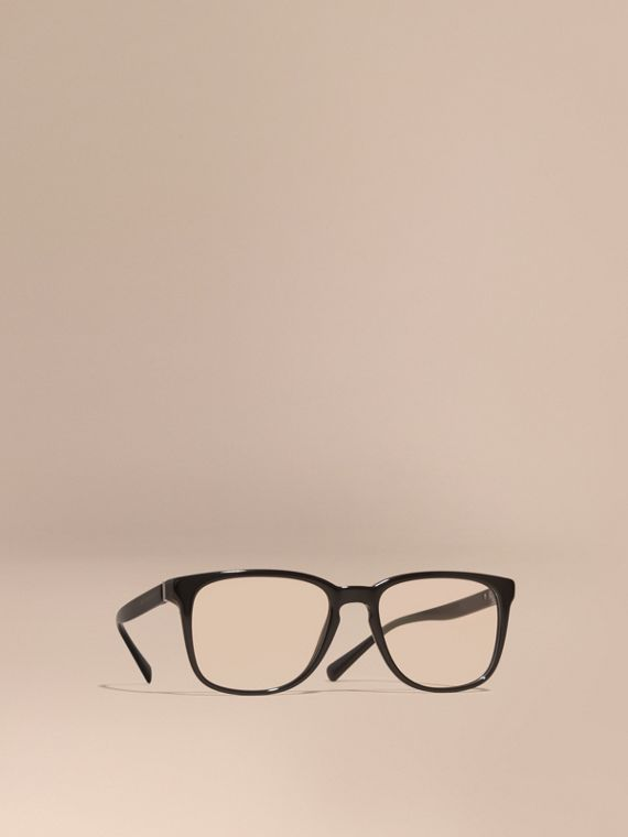 Square Optical Frames Black