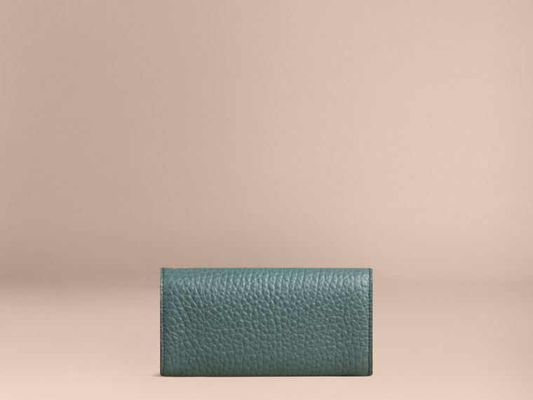 Celadon blue Signature Grain Leather Continental Wallet Celadon Blue - cell image 1