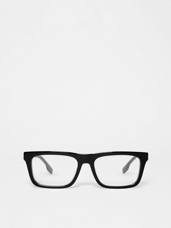 Rectangular Optical Frames in Black