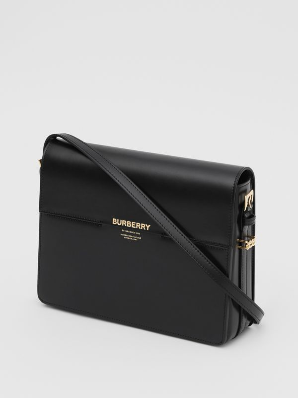 Large Leather Grace Bag in Black - Women | Burberry United Kingdom - cell image 2