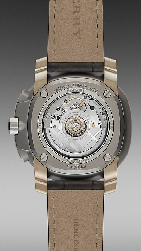 Grey The Britain Limited Edition 18k Gold BBY2001 47mm Automatic - Image 4
