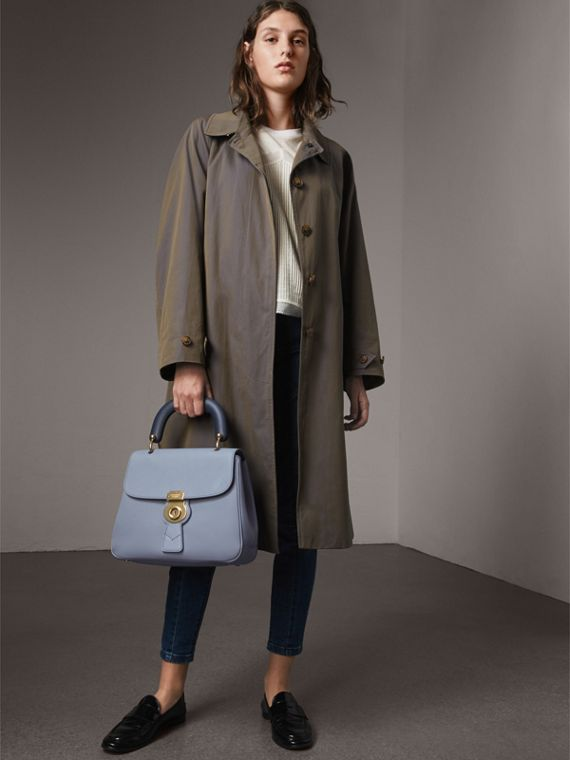 The Medium DK88 Top Handle Bag in Slate Blue - Women | Burberry Hong Kong - cell image 2