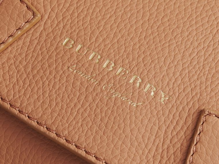 The Bridle Crossbody Bag in Deerskin in Pale Clementine - Women | Burberry - cell image 1