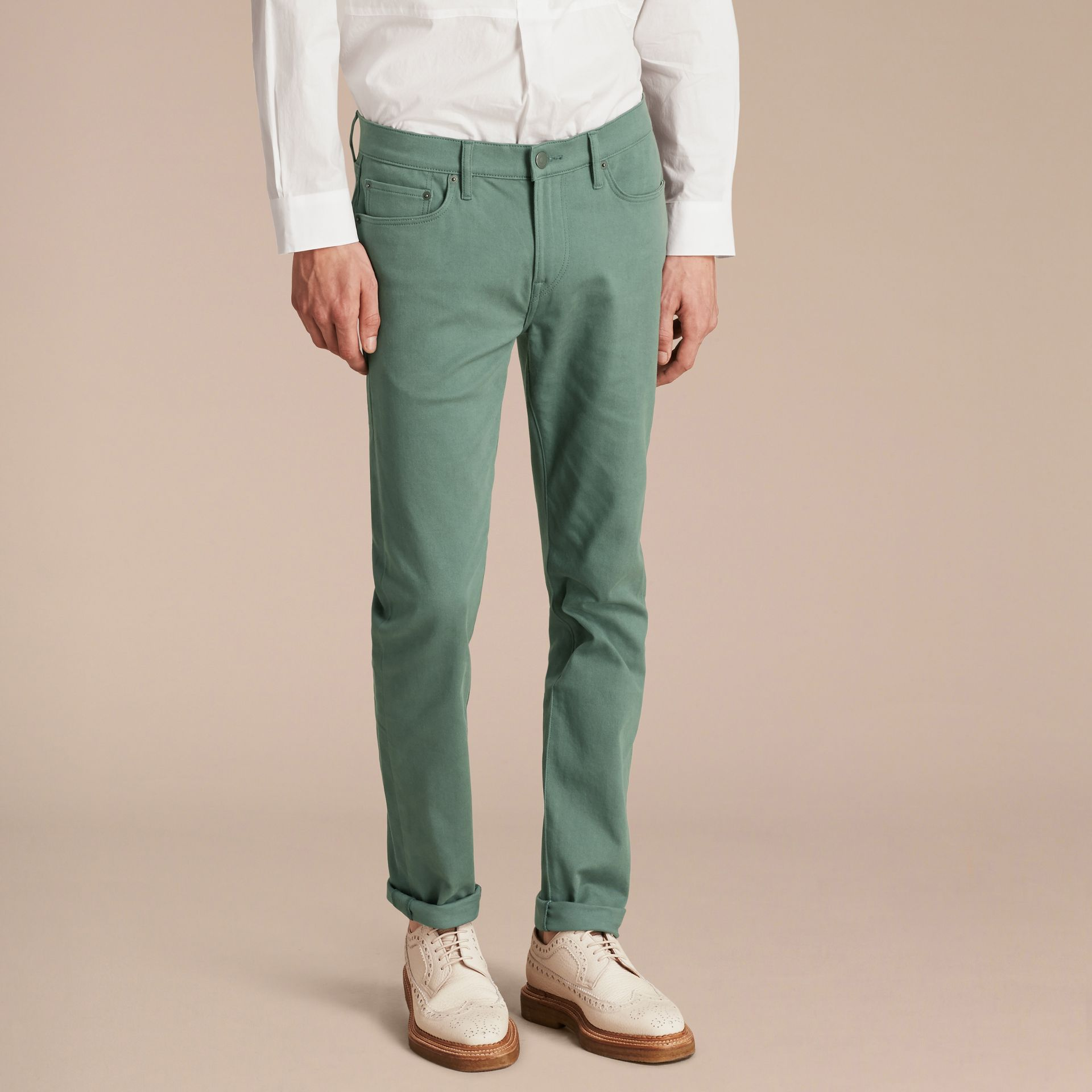 Slim Fit Stretch Japanese Denim - gallery image 7