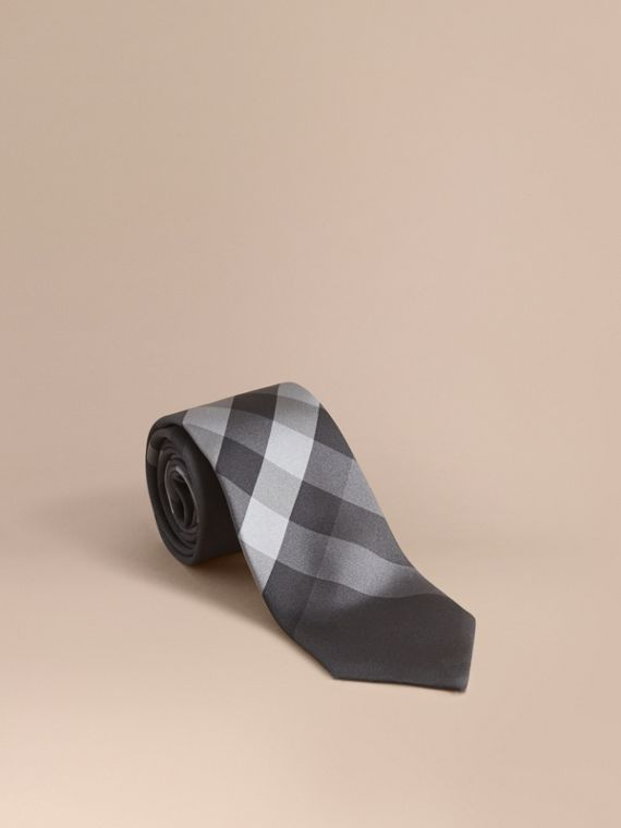 Modern Cut Beat Check Silk Tie - Men | Burberry Australia