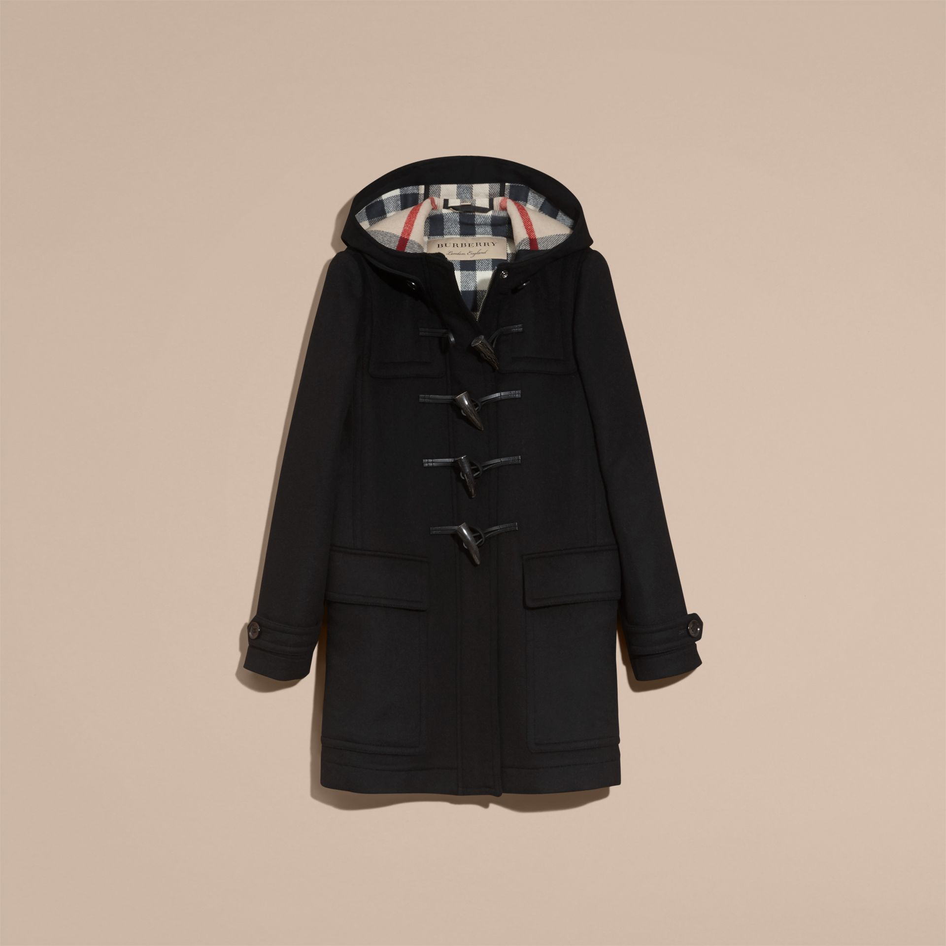 Wool Duffle Coat - gallery image 4