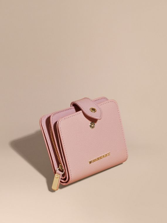 Patent London Leather Wallet Ash Rose