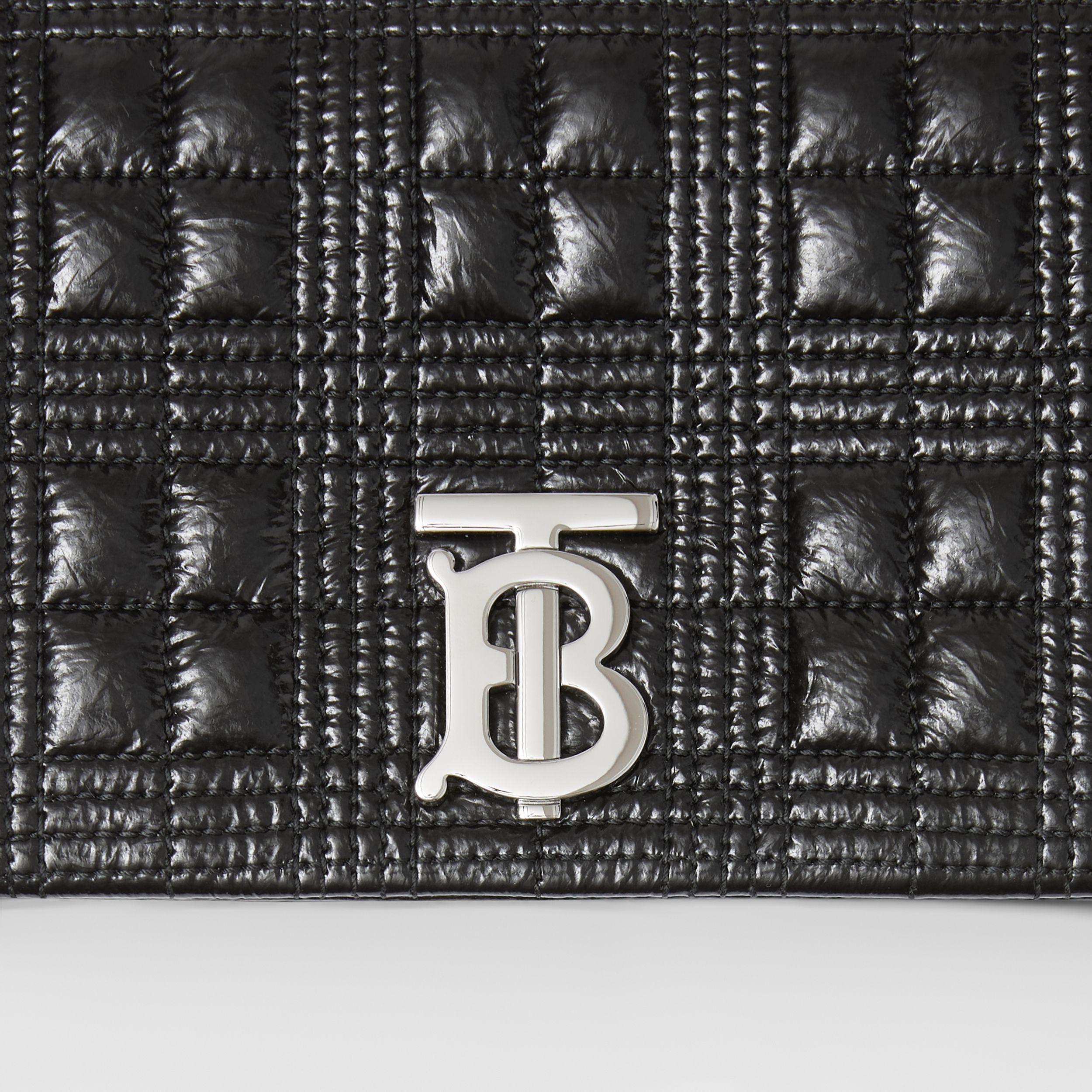 Small Quilted Lambskin Lola Bag in Black - Women | Burberry United Kingdom - 2