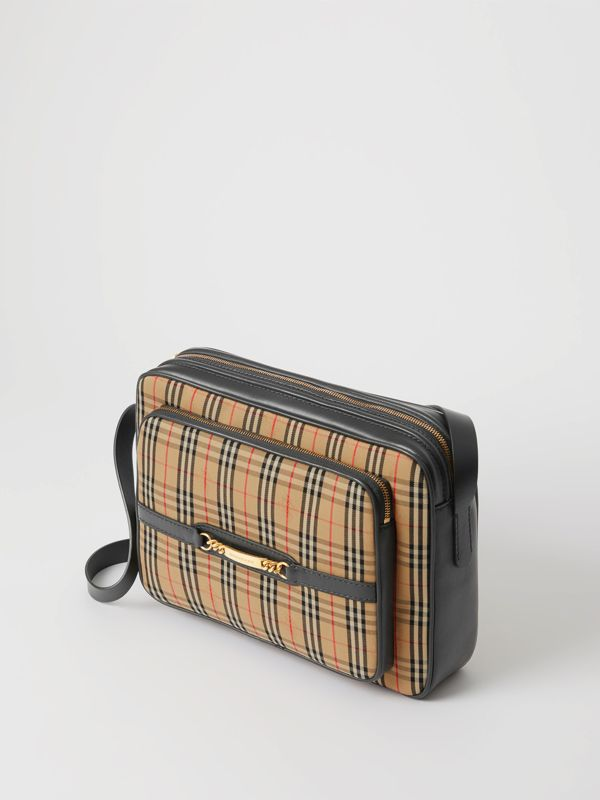 The Large Link Camera Bag im Karodesign (Schwarz) - Herren | Burberry - cell image 3