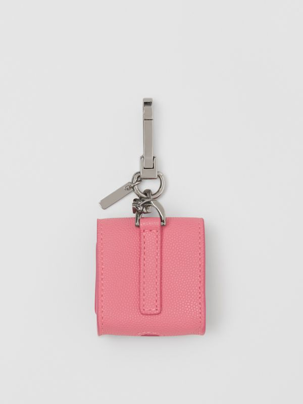 Grainy Leather AirPods Case in Candy Floss - Women   Burberry Canada - cell image 2