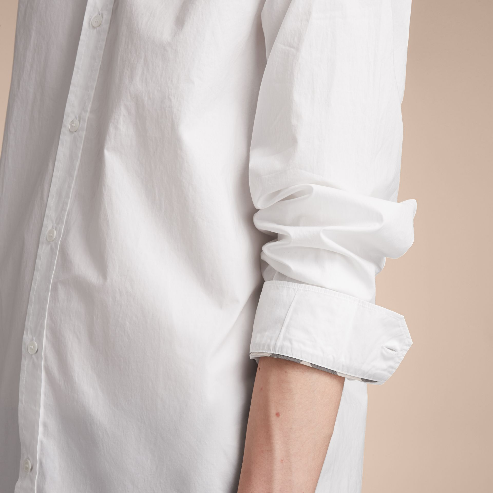 Japanese Cotton Poplin Shirt - gallery image 5