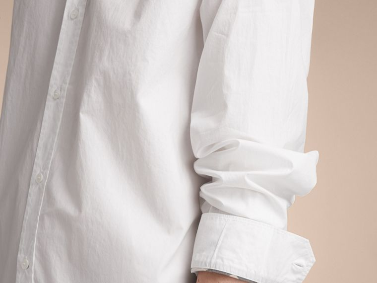 Japanese Cotton Poplin Shirt - cell image 4