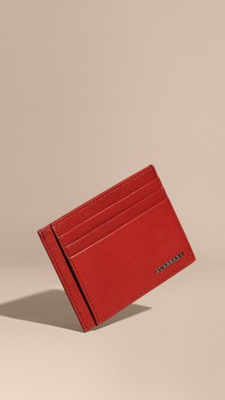 London Leather Card Case