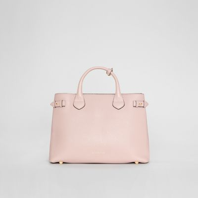 Burberry - Sac The Banner medium en cuir et coton House check - 7