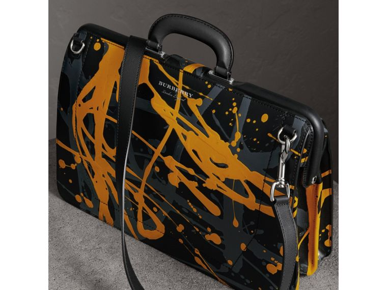 The DK88 Splash Doctor's Bag in Black/splash - Men | Burberry Singapore - cell image 4
