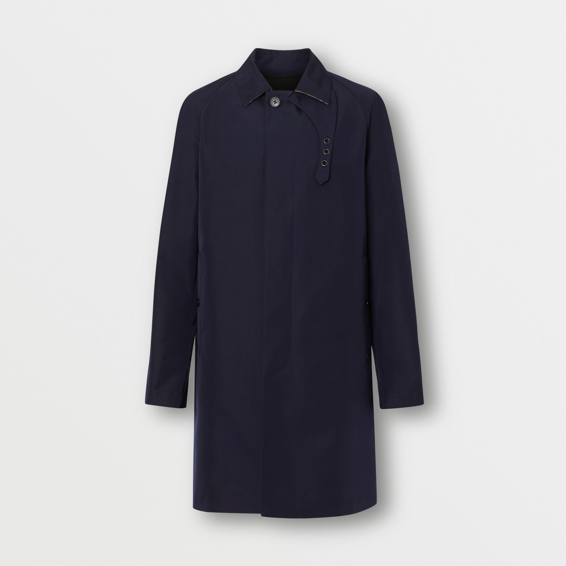 Bonded Car Coat with Warmer in Navy - Men | Burberry - gallery image 3