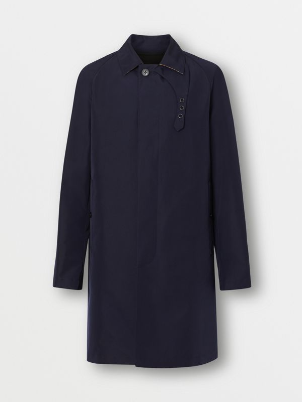 Bonded Car Coat with Warmer in Navy - Men | Burberry - cell image 3