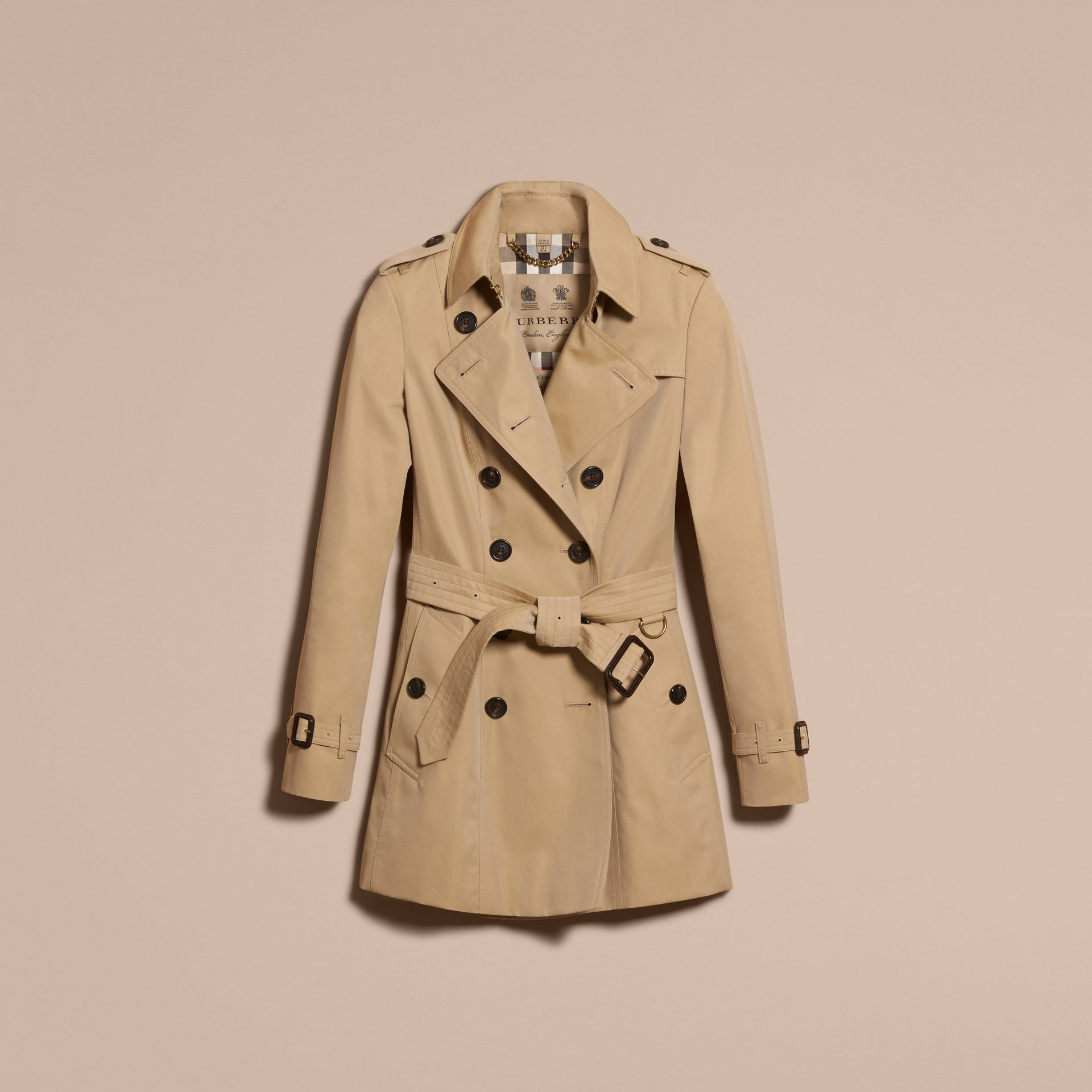 Miel Trench-coat Heritage court The Chelsea Miel - photo de la galerie 4